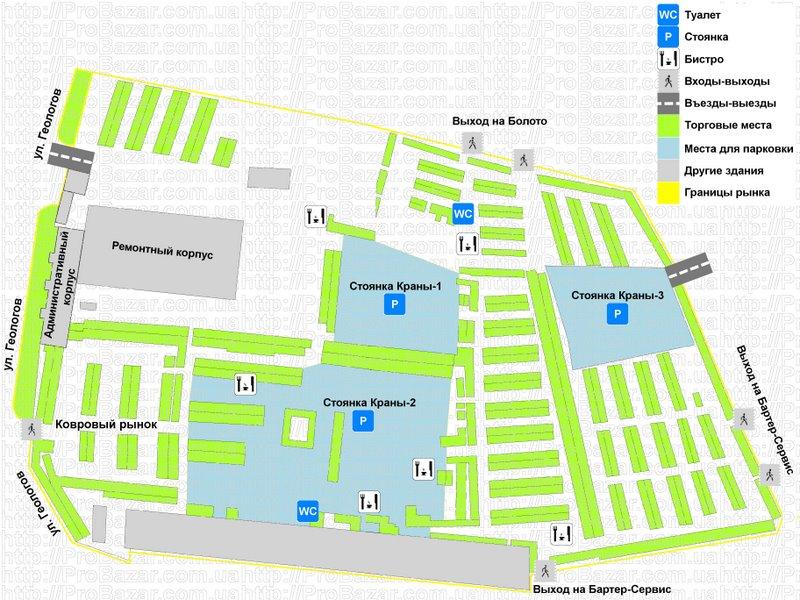 Карта Хмельницкого (города