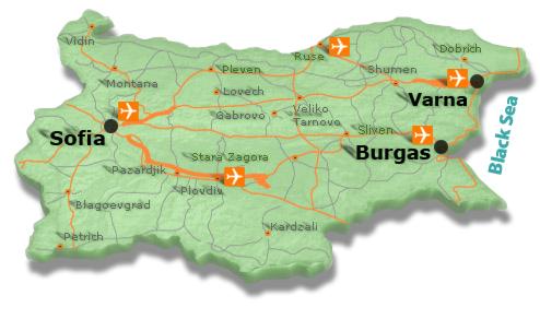Карта города несебр болгария на русском языке